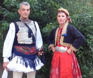 costume, couple, and culture image