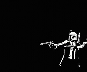 star wars, darth vader, and pulp fiction image