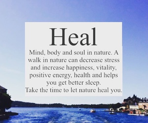 body, happiness, and heal image