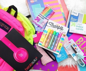 school, beats, and back to school image