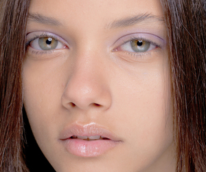 green eyes, makeup, and model image