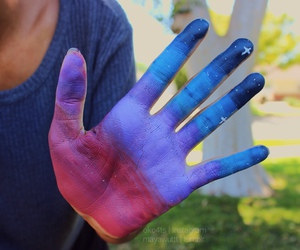 hand and colors image