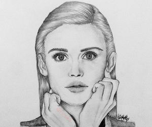 drawing, fan art, and graphite image