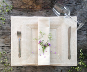 country wedding, dining table, and dinner party image