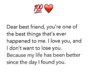 best friends, friendship, and life image