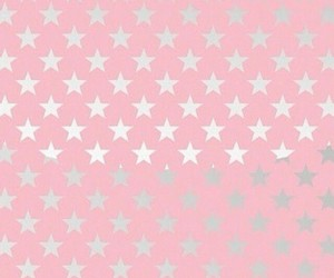 background, pink, and stars image
