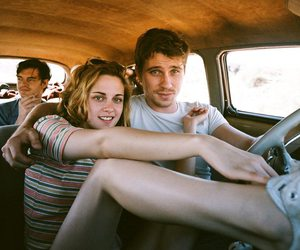 on the road, kristen stewart, and car image