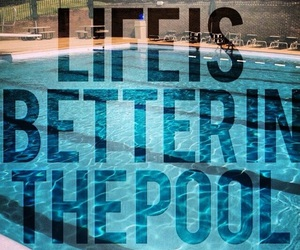 athletic, pool, and quotes image