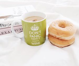 coffee, doughnuts, and food photography image