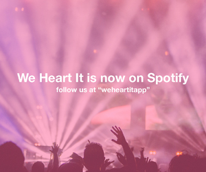 we heart it and spotify image