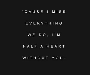 heart, quotes, and half image