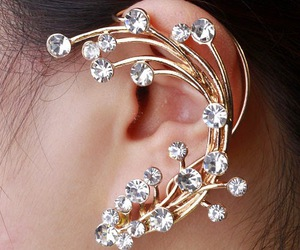 earing, fashion, and fun image