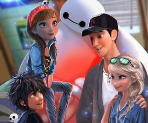 frozen, big hero 6, and disney image