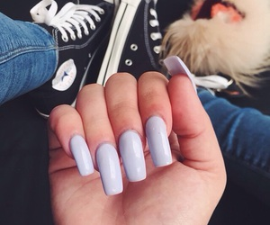 nails and converse image