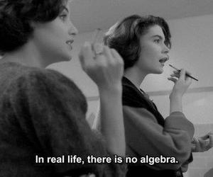 life, text, and algebra image