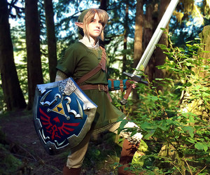 cosplay, link, and zelda image