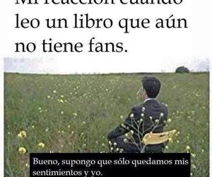 book, fans, and feelings image