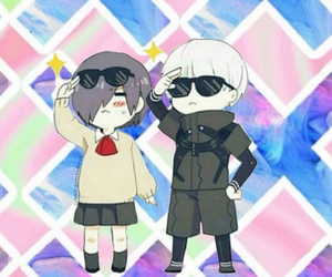 anime, tokyo ghoul, and chibi image