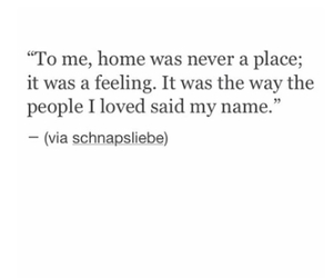 home, missing, and quote image
