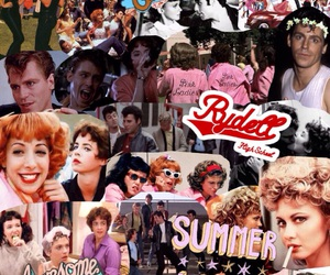 50s, grease, and tumblr collage image