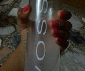 bottle, water, and voss image