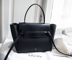 bag, celine, and black image