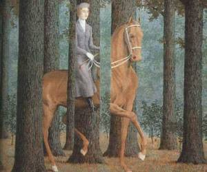 painting, art, and horse image