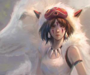 ghibli and mononoke image