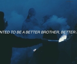 better, brother, and dark image