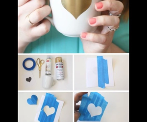 heart, diy, and love image