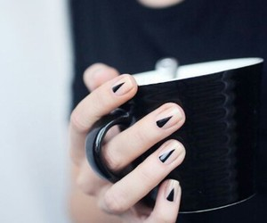 beautiful, black, and manicure image