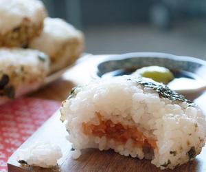 chef, japanese dinner, and onigiri image