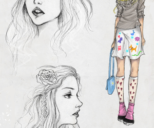 skins, cassie, and drawing image