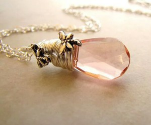 crystal, necklace, and pendent image