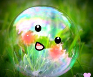 bubbles, smile, and happy image