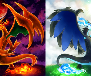 pokemon, charazard, and dragonnation image