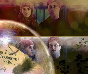 christmas, harmony, and harry potter image