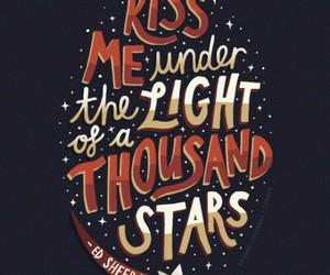 ed sheeran, stars, and thinking out loud image