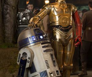 star wars, c3po, and r2d2 image
