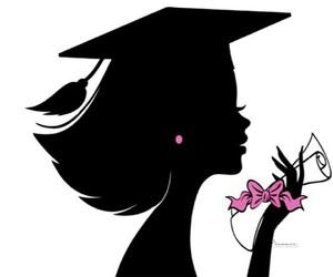 girl, graduation, and تخريج image