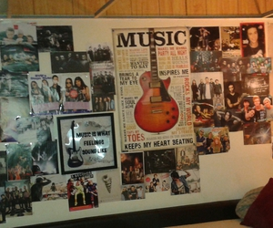 bedroom, emo, and music image