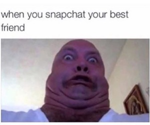 funny and snapchat image