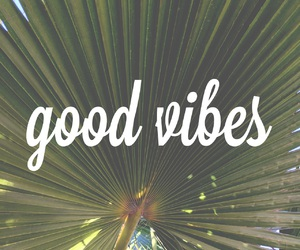 summer, good vibes, and quote image