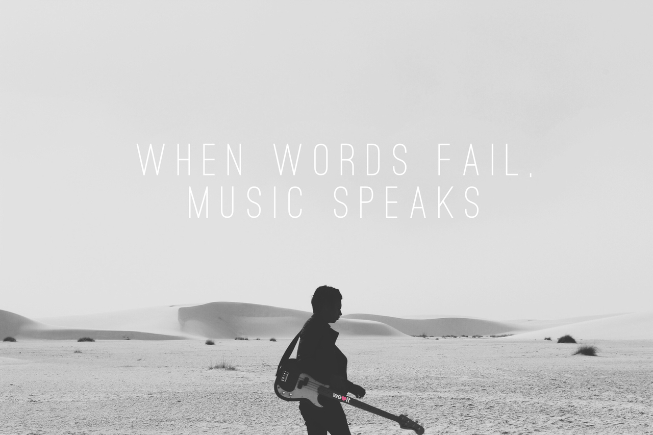 music, quotes, and words image