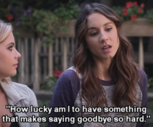 pll, spencer, and pretty little liars image