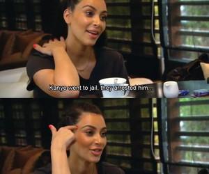 kim kardashian, funny, and kanye image