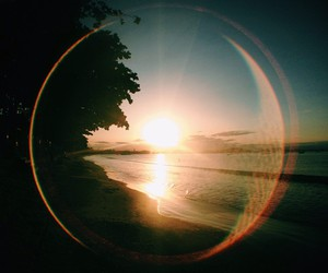 sun, beach, and nature image