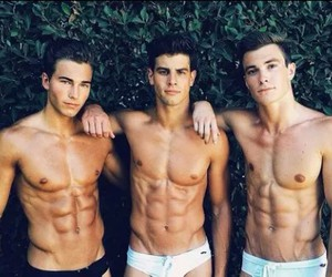 abs, guys, and hotties image