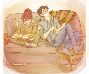 harry potter, love, and couple image