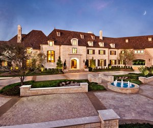 house, luxury, and mansion image